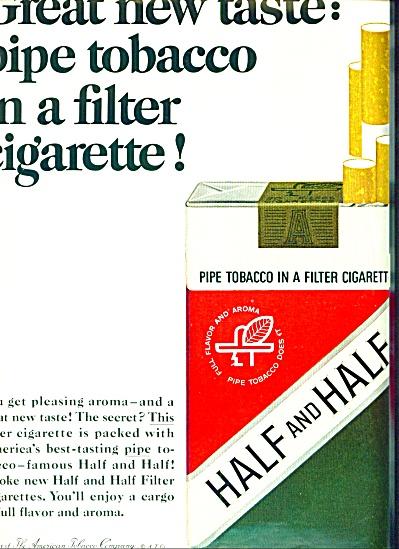 1965 - Half and Half filter cigarette ad (Image1)