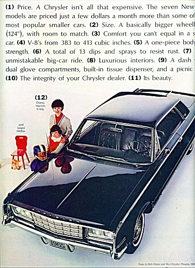 1965 -  Chrysler New Yorker auto ad (Image1)