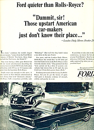 1965 -  Ford Galaxie 500 LTD ad (Image1)
