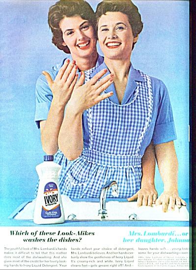 1962 - Ivory liquid ad (Image1)
