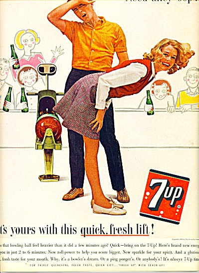 1963 -   7 up drink  ad (Image1)