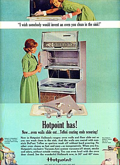 1963 -  Hotpoint ovens ad-dish washer (Image1)