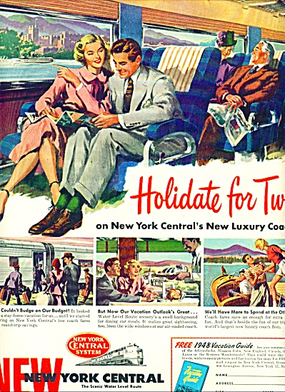 1948 -  New York Central system ad (Image1)