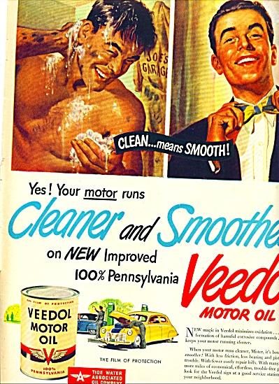 1947 - Veedol motor oil ad (Image1)