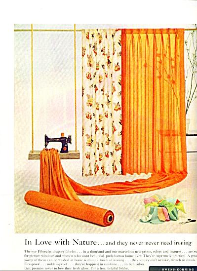 1954 -  Owens corning fiberglas fabrics (Image1)
