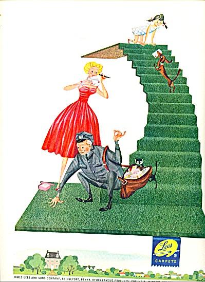 1954 - Lees Carpets ad (Image1)