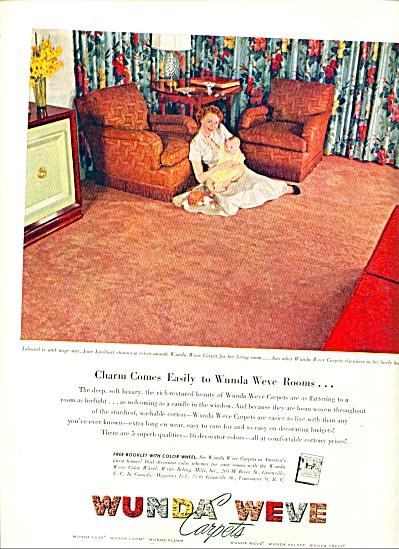 1954 - Wunda weve carpets ad (Image1)