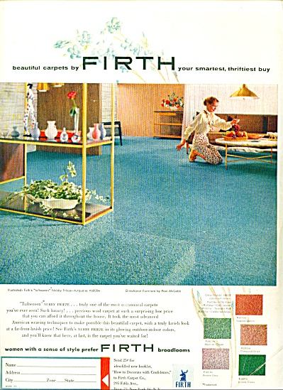 1954 -  Firth broadlooms ad (Image1)