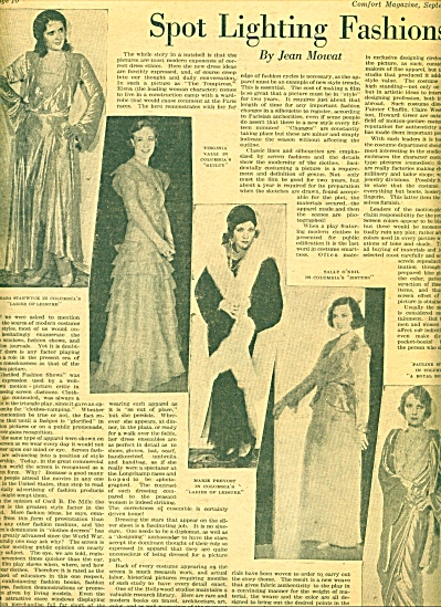 1930 -  Spot Lighting fashions ads (Image1)