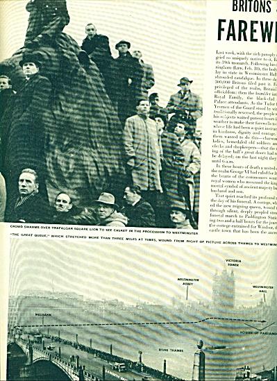 1952 - Death of King George VI of England (Image1)