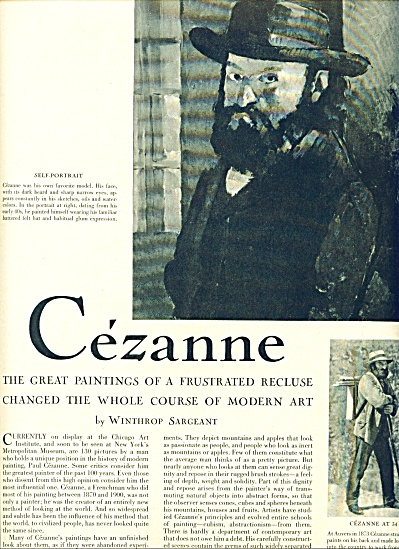 1952 -  CEZANNE - Famous Painter story (Image1)