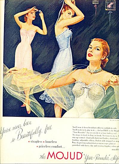 1951 -  Mojud year rounder slip ad (Image1)