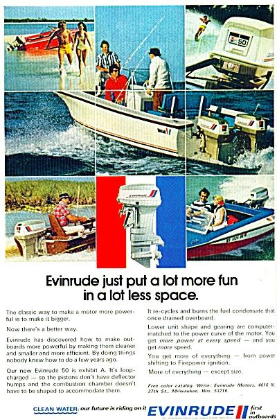 1972 - Evinrude motor ad (Image1)