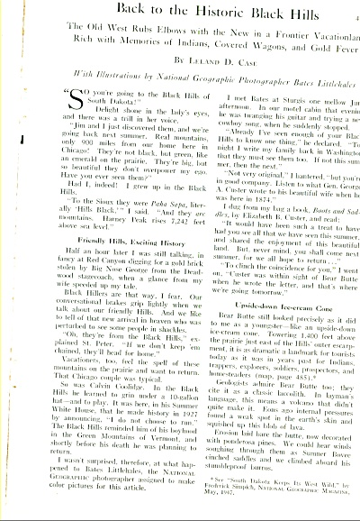 1956 -Back to the Historic black Hills story (Image1)