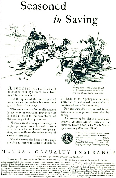 1930 - Mutual Casualty Insurance ad (Image1)
