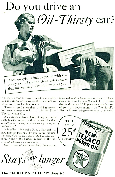1936 new texaco motor oil texaco gas and oil at miss for 99 cent store motor oil