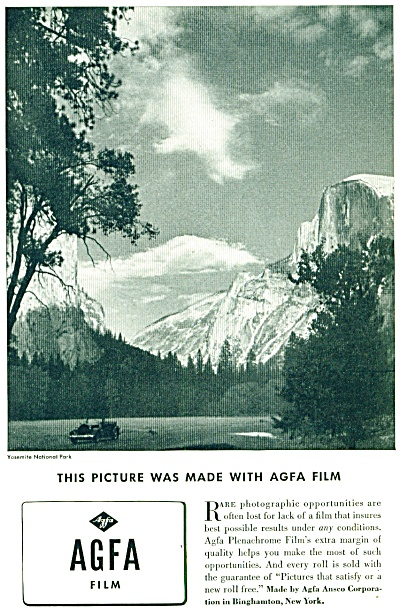 1936 - AGFA film ad (Image1)