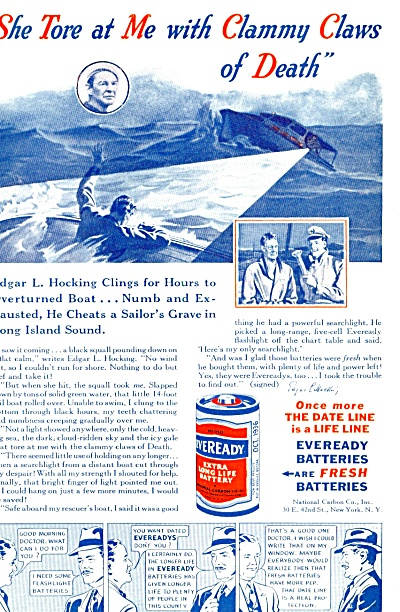 `1936 -  Eveready batteries ad (Image1)