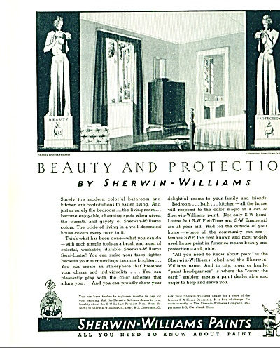1936 -  Sherwin Williams Paints ad (Image1)