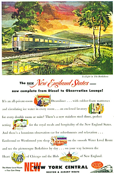 1949 - New York Central  ad (Image1)