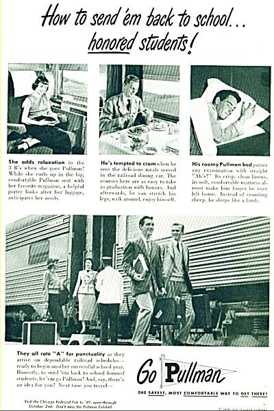 1949 - Go Pullman ad (Image1)