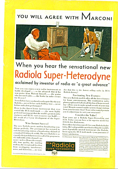 1930 - RCA Radiola ad (Image1)