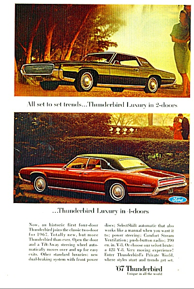 1967 -  Ford Thunderbird for 1967 (Image1)