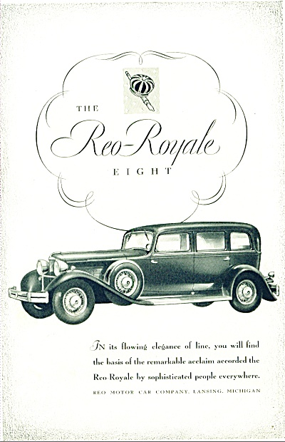 1930- The Reo Royal eight auto ad (Image1)