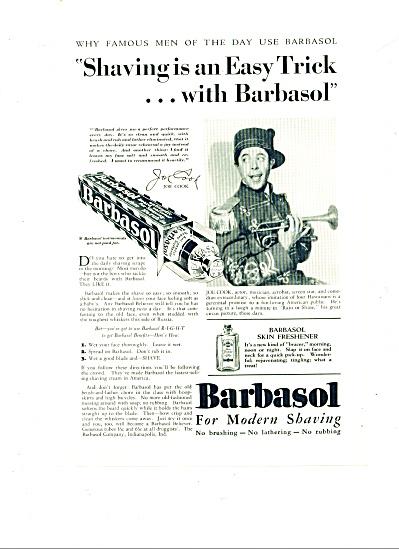 1930 - Barbasol shaving cream ad (Image1)