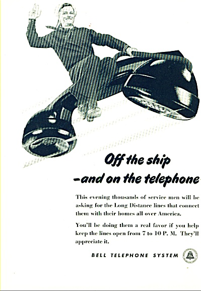 1945 - Bell telephone system ad (Image1)