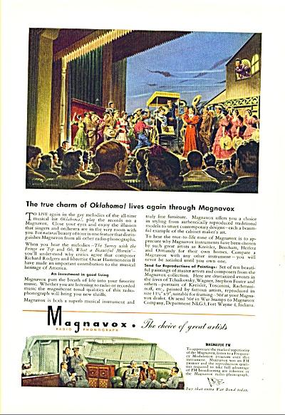 1949 - Magnavox radio and phonograph ad (Image1)