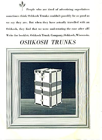 1931 - Oshkosh trunks ad (Image1)