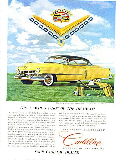 1952 - Cadillac automobile ad (Image1)