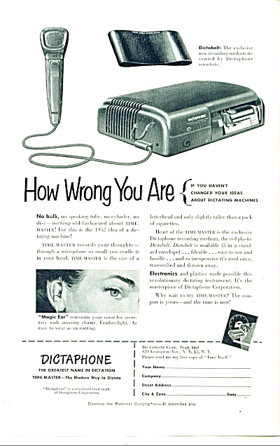 1930s - Dictaphone dictating machines (Image1)