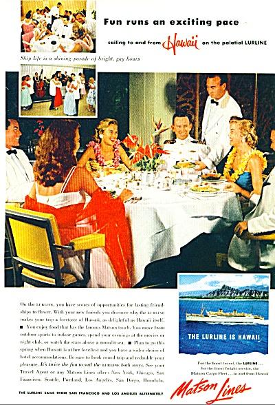 1954 - Matson Lines ad (Image1)
