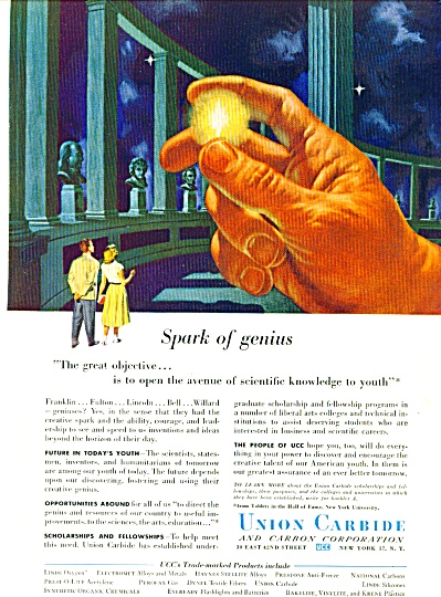 1954 - Union Carbide ad (Image1)