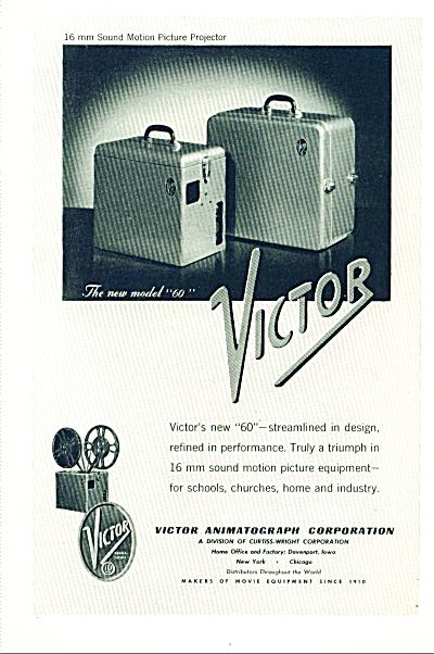 1947 - Victor animatograph corporation ad (Image1)