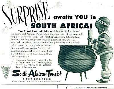1952 - South African tourist ad (Image1)