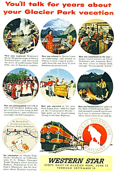 1954 - Western Star railroad ad (Image1)