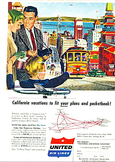 1956 -  United Air L:ines ad (Image1)