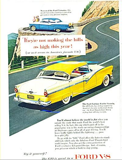 1956 -  Ford V-8 Fairlane ad (Image1)