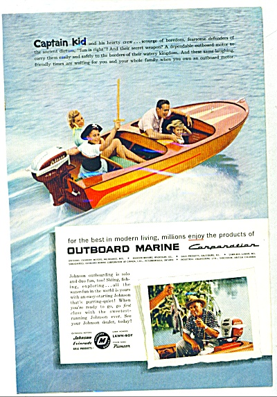 1957 - Outboard Marine corporation ad (Image1)