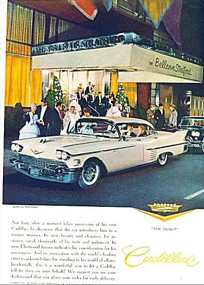 1958 - Cadillac automobile for 1958 (Image1)