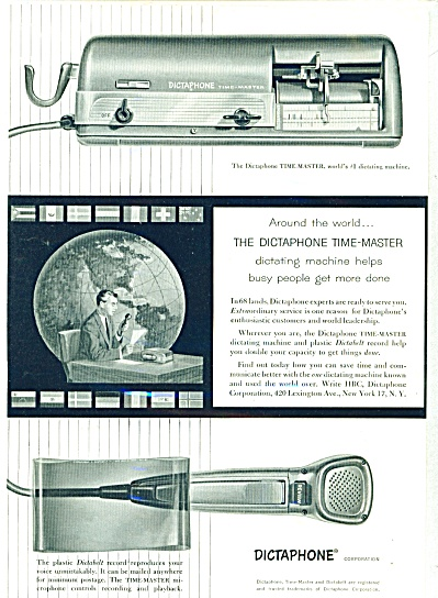 1954 - Dictaphone ad (Image1)