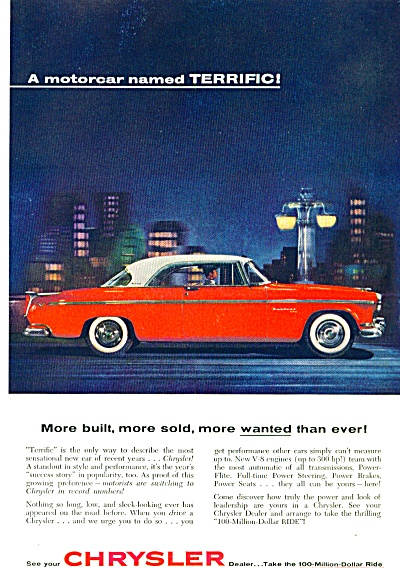 1955 - Chrysler automobile ad (Image1)