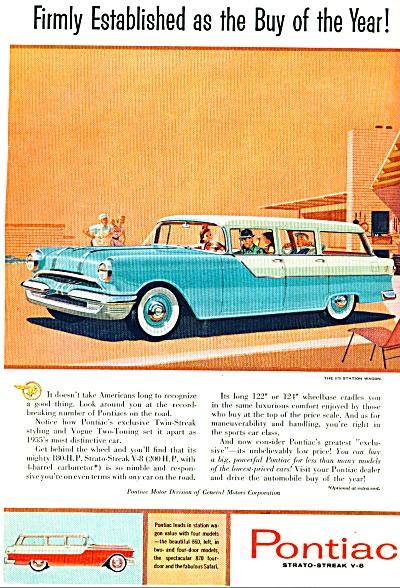 1955 - Pontiac automobile ad (Image1)