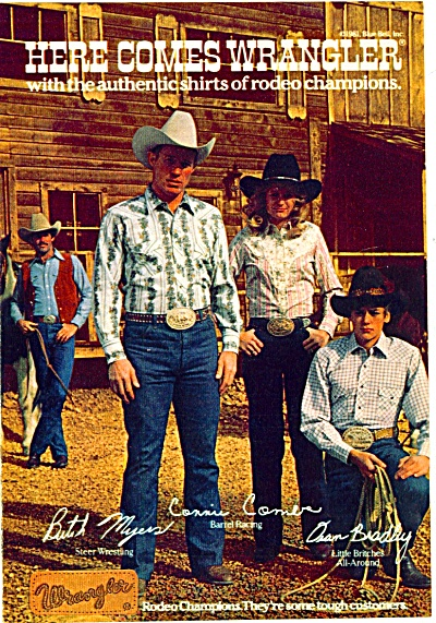 1981 - Wrangler jeans ad (Image1)