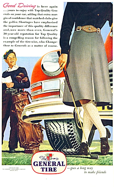 1946 - The General Tire Ad