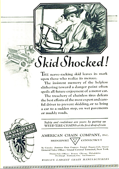 1921 -  American chain company ad (Image1)