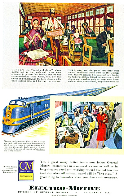 1949 - Electro-motive -gm) Ad